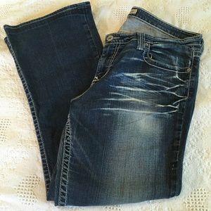 Big Star Maddie Jeans Mid Rise Fit 34R